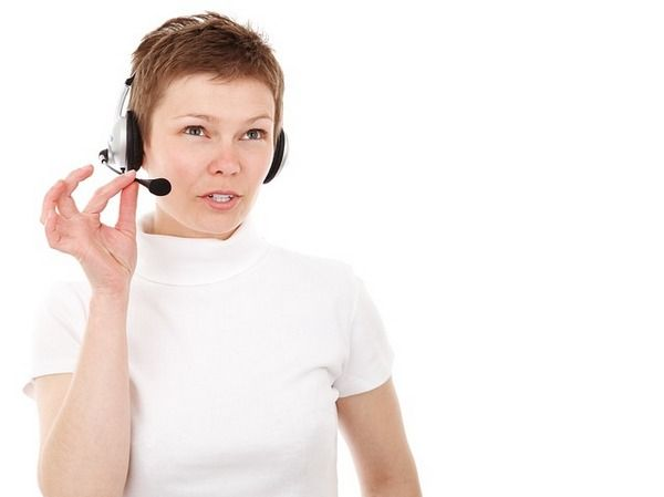 Woman calling someone