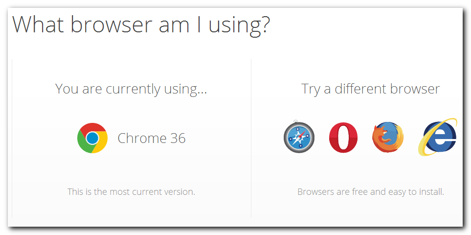 What Browser To Use?